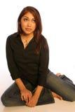 1 περιστασιακό κορίτσι ισ&p Στοκ Φωτογραφίες