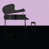 1 πιάνο Στοκ εικόνα με δικαίωμα ελεύθερης χρήσης