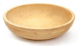 1 πιάτο ξύλινο Στοκ Φωτογραφία