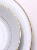 1 πιατάκι πιάτων Στοκ Εικόνες