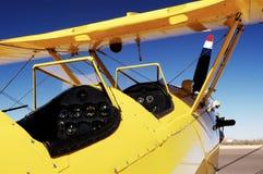 1 πιλοτήριο ανοικτό Στοκ εικόνες με δικαίωμα ελεύθερης χρήσης