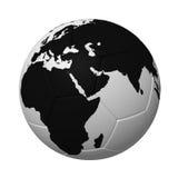 1 ποδόσφαιρο Στοκ Εικόνες