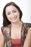 1 πορτρέτο brunette Στοκ φωτογραφία με δικαίωμα ελεύθερης χρήσης