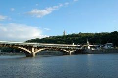 1 ποταμός dnipro Στοκ Φωτογραφία