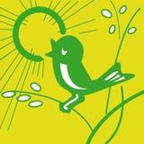 1 πουλί Στοκ φωτογραφίες με δικαίωμα ελεύθερης χρήσης