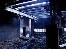 1 που καίγεται ολοσχερώ&s Στοκ φωτογραφίες με δικαίωμα ελεύθερης χρήσης