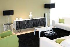 1 πράσινο δωμάτιο Στοκ Φωτογραφία