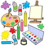 1 πρόστιμο συλλογής τεχνών απεικόνιση αποθεμάτων