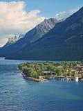 1 πόλη Αλμπέρτα waterton Στοκ εικόνα με δικαίωμα ελεύθερης χρήσης