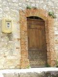 1 πόρτες γαλλικά Στοκ εικόνες με δικαίωμα ελεύθερης χρήσης