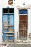 1 πόρτες Μαροκινός Στοκ φωτογραφίες με δικαίωμα ελεύθερης χρήσης