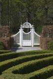 1 πύλη κήπων Στοκ Εικόνες
