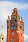 1 πύργος αιθουσών πόλεων Στοκ Εικόνες