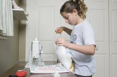1 ράψιμο μαξιλαριών στοκ εικόνα με δικαίωμα ελεύθερης χρήσης