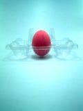 1 ροζ αυγών Στοκ Φωτογραφίες