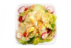 1 σειρά σαλάτας Στοκ Εικόνα