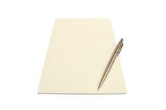 1 σημειωματάριο Στοκ φωτογραφία με δικαίωμα ελεύθερης χρήσης
