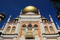 1 σουλτάνος Σινγκαπούρης μουσουλμανικών τεμενών Στοκ φωτογραφία με δικαίωμα ελεύθερης χρήσης