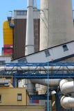 1 σταθμός παραγωγής ηλεκτρικού ρεύματος θερμικός Στοκ Εικόνες