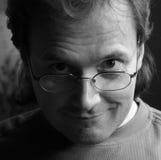 1 στενό πρόσωπο bw - επάνω Στοκ εικόνες με δικαίωμα ελεύθερης χρήσης