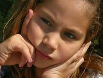 1 συλλήφθείτ κορίτσι ελάχ&io Στοκ φωτογραφία με δικαίωμα ελεύθερης χρήσης