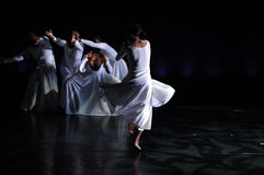 1 σύγχρονη απόδοση χορού στοκ φωτογραφία με δικαίωμα ελεύθερης χρήσης