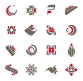 1 σύνολο λογότυπων συλλ&o στοκ φωτογραφία με δικαίωμα ελεύθερης χρήσης