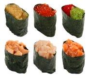 1 σύνολο της Ιαπωνίας τροφί Στοκ Εικόνες