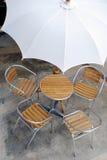 1 σύνολο patio Στοκ Φωτογραφία