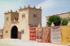 1 τάπητες handwoven Μαροκινός Στοκ Εικόνα