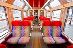 1 τραίνο άδειων θέσεων Στοκ εικόνα με δικαίωμα ελεύθερης χρήσης