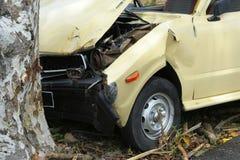 1 τροχαίο ατύχημα Στοκ φωτογραφία με δικαίωμα ελεύθερης χρήσης