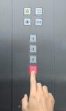 1 Τύπος χεριών πατωμάτων επιχ Στοκ φωτογραφίες με δικαίωμα ελεύθερης χρήσης