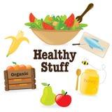 1 υγιής ουσία Στοκ Εικόνα
