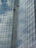 1 υψηλό παράθυρο πλυντηρίω&nu Στοκ φωτογραφίες με δικαίωμα ελεύθερης χρήσης