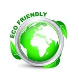 1 φιλικός πράσινος eco Στοκ Εικόνες