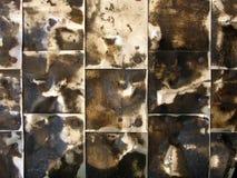 1 φύλλο πυλών ανασκόπησης Στοκ Φωτογραφίες