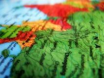 1 χάρτης Στοκ εικόνα με δικαίωμα ελεύθερης χρήσης