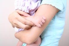 1 χέρι s μωρών Στοκ Φωτογραφία