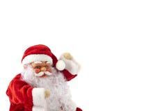 1 χιονάνθρωπος santa Claus Στοκ φωτογραφία με δικαίωμα ελεύθερης χρήσης