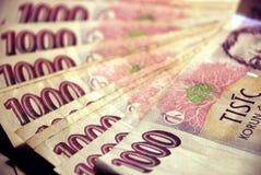 1 χρήματα Στοκ φωτογραφία με δικαίωμα ελεύθερης χρήσης