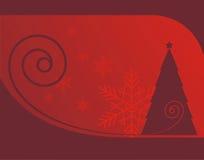 1 Χριστούγεννα ανασκόπησης διανυσματική απεικόνιση