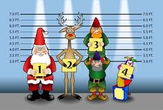 1 Χριστούγεννα διατάξεων διανυσματική απεικόνιση