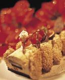 1 Χριστούγεννα κέικ στοκ φωτογραφίες