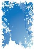 1 Χριστούγεννα συνόρων Στοκ φωτογραφίες με δικαίωμα ελεύθερης χρήσης