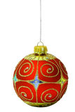 1 Χριστούγεννα σφαιρών στοκ εικόνα
