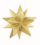 1 χρυσό αστέρι στοκ εικόνες