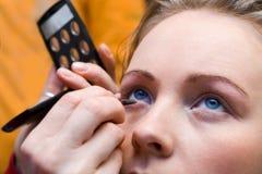 1 χρόνος makeup Στοκ Φωτογραφία