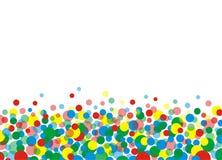 1 χρώμα κύκλων ελεύθερη απεικόνιση δικαιώματος