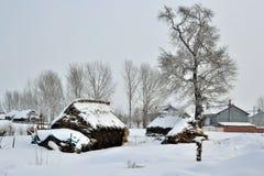 1 χωριό πάχνης νησιών Στοκ Εικόνες